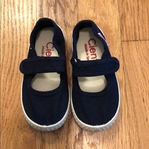 Navy Mary Jane Cienta toddler shoes